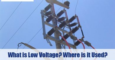 What is Low Voltage? Where is Low Voltage Used?