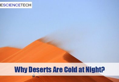 Why Deserts Are Cold at Night?